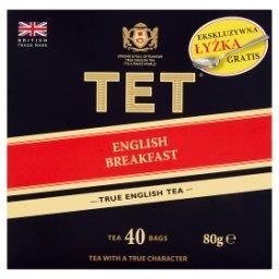 English Breakfast Herbata czarna 80 g (40 torebek)