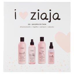 Jeju różowa Zestaw kosmetyków