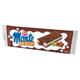Monte Snack Biszkopt z kremem mlecznym i czekoladowo...