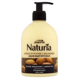 Naturia Mydło w płynie z balsamem olejek arganowy