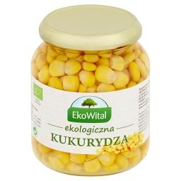Ekologiczna kukurydza