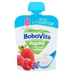 JogoMi! Owoce z jogurtem z truskawkami i malinami po...