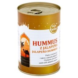 Hummus z jalapeño