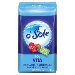 Sól Vita z potasem o obniżonej zawartości sodu jodow...