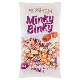 Minky Binky Toffi z nadzieniem z galaretki