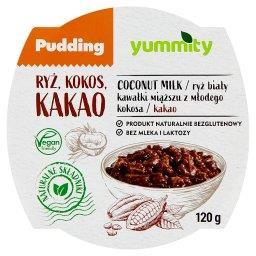 Bezglutenowy pudding ryżowy z kokosem i kakao
