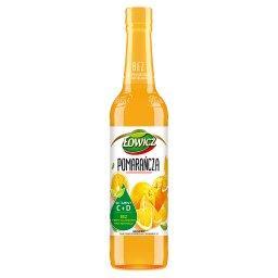 Suplement diety syrop o smaku pomarańczowym