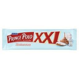 XXL Kruchy wafelek z kremem kokosowym oblany czekola...