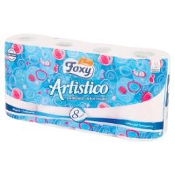 Artistico Papier toaletowy delikatnie dekorowany róż...