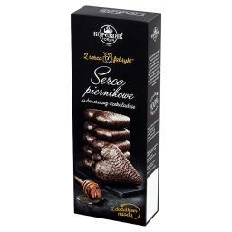 Z serca fabryki Serca piernikowe w deserowej czekola...