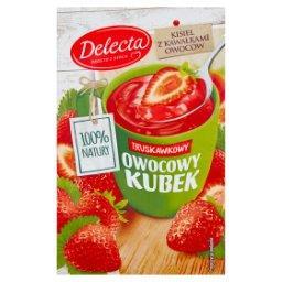 Z serca natury Owocowy kubek Kisiel o smaku truskawk...