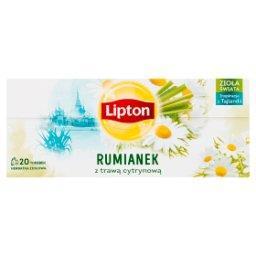 Herbatka ziołowa rumianek z trawą cytrynową  (20 tor...