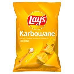 Chipsy ziemniaczane karbowane solone