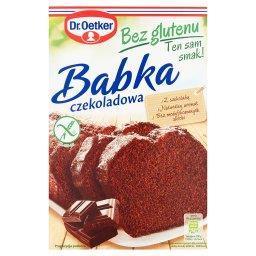 Babka bez glutenu czekoladowa