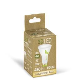 Żarówka GU10 LED 6W(33W) 450LM