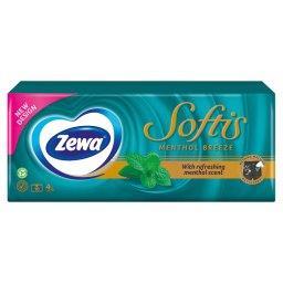 Softis Menthol Chusteczki higieniczne 10 x 9 sztuk
