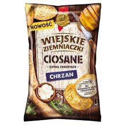 Ciosane Chipsy ziemniaczane o smaku chrzanowym