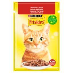 Karma dla kotów w sosie z wołowiną
