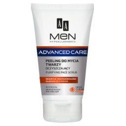 Men Advanced Care Peeling do mycia twarzy oczyszczający 150 ml