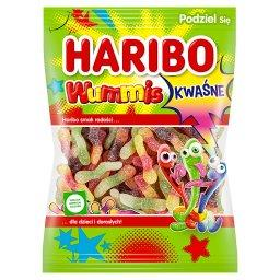 Wummis Kwaśne Guma o smaku owocowym 175 g