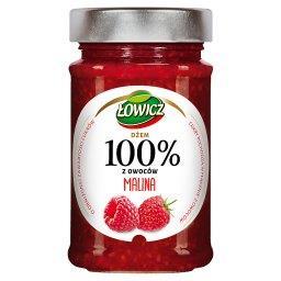 Dżem 100% z owoców malina