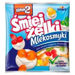 Śmiejżelki Mlekosmyki Żelki owocowe wzbogacone witam...