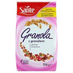 Granola z granatem