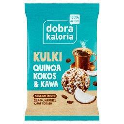 Dobra Kaloria Quinoa na okrągło kokos & kawa 24 g