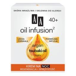 Oil Infusion2 40+ krem na noc regeneracja + sprężystość 50 ml