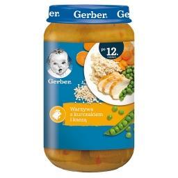 Warzywa z kurczakiem i kaszą dla dzieci po 12. miesi...