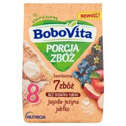 Porcja Zbóż Kaszka bezmleczna 7 zbóż jagoda-jeżyna j...