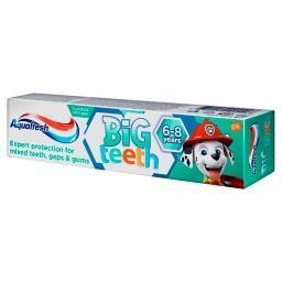 Big Teeth Pasta do zębów z fluorkiem 6-8 lat