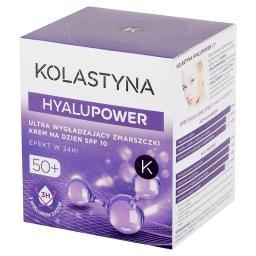 HyaluPower 50+ Ultra wygładzający zmarszczki krem na dzień SPF 10