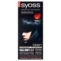 SalonPlex Farba do włosów granatowa czerń 1-4