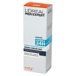 L'Oreal Paris Men Expert Hydra 24h Krem nawilżający skóra wrażliwa