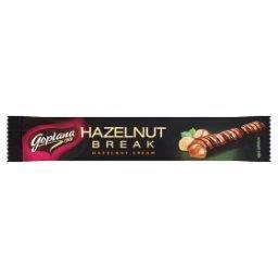 Hazelnut Break Wafelek nadziewany kremem orzechowym w czekoladzie