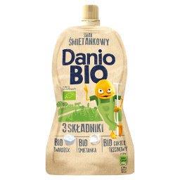Danio Bio Serek homogenizowany o smaku śmietankowym