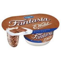 Fantasia mleczna Jogurt kremowy z kawałkami czekolady mlecznej