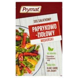 Sos sałatkowy paprykowo-ziołowy węgierski