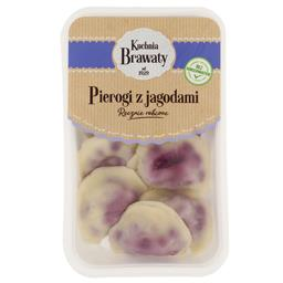 Pierogi z jagodami ręcznie robione
