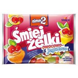 Śmiejżelki owocowo-jogurtowe Żelki owocowe wzbogacone witaminami