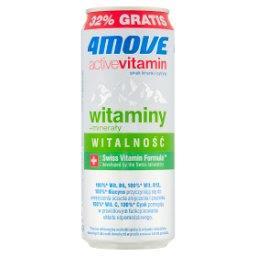 Active Vitamin Witalność Napój gazowany smak limonki i cytryny