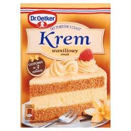 Krem do tortów i ciast smak waniliowy