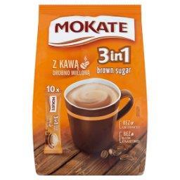3in1 Brown Sugar Rozpuszczalny napój kawowy w proszku 170 g
