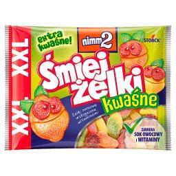 Śmiejżelki kwaśne Żelki owocowe wzbogacone witaminami