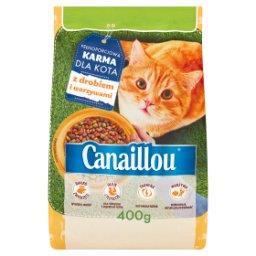 Pełnoporcjowa karma dla kota z drobiem i warzywami