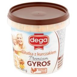 Sałatka z kurczakiem premium gyros