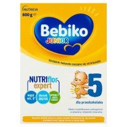 Junior 5 Mleko modyfikowane dla dzieci powyżej 2,5. roku życia 800 g
