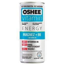 Vitamin Energy Magnez + B6 Napój gazowany o smaku owoców tropikalnych