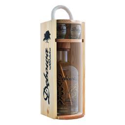 Wódka Dębowa Polska drewno + kieliszek 0,7 l